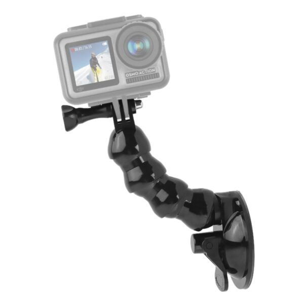 Suction Cup Flex Clamp Mount for DJI Osmo Action & GoPro Hero 7 / 6 / 5 / 4