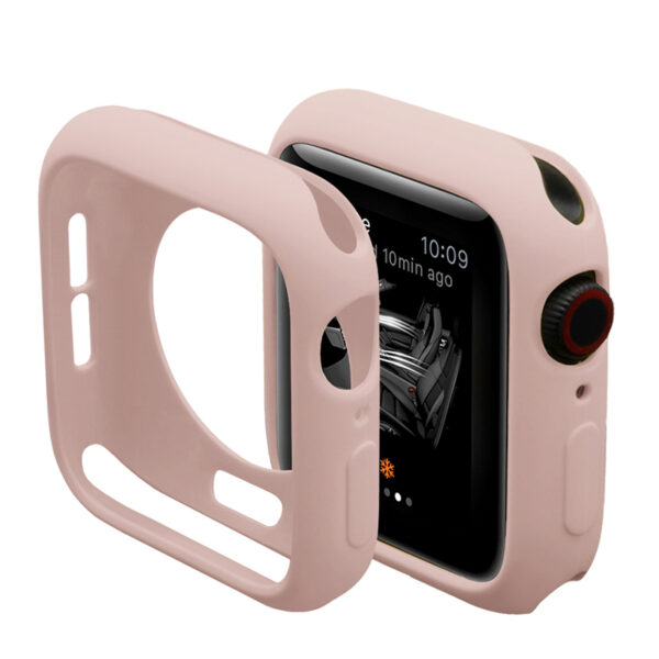 Screen Protector & Cover for Apple Watch Series 4 44mm Pink