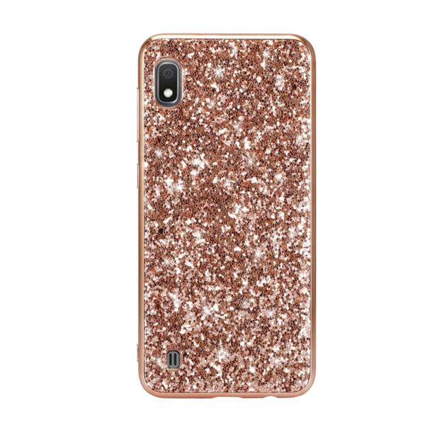 Rose Gold Powder Glitter Cover For Samsung Galaxy A10