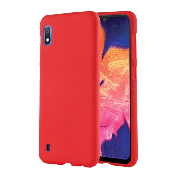Soft Feeling Cover Galaxy A10 Red