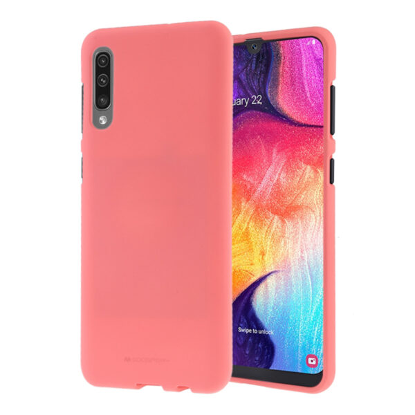 Soft Feeling Cover Galaxy A50 Coral