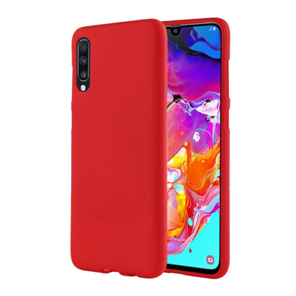 Soft Feeling Cover Galaxy A70 Red