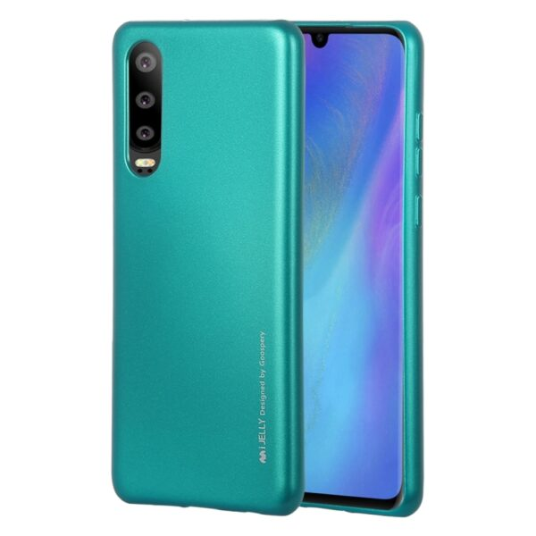 I-Jelly Cover Huawei P30 Emerald Green