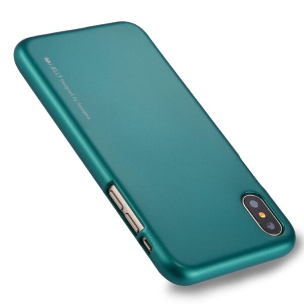 I-Jelly Cover iPhone X & XS Emerald Green