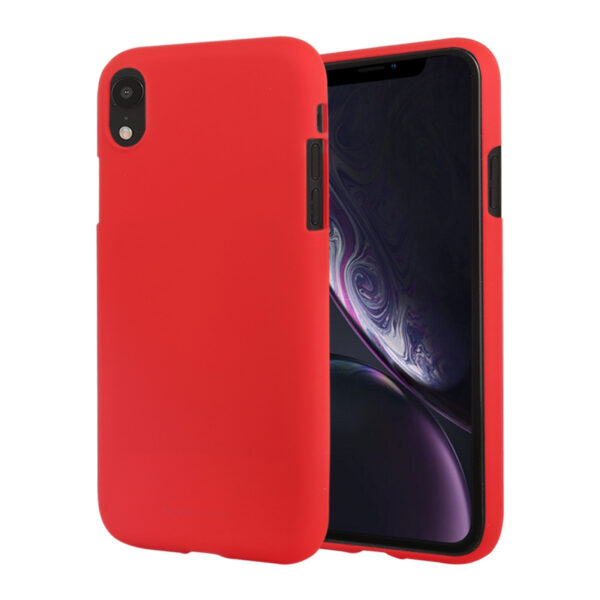 Soft Feeling Cover iPhone XR Red