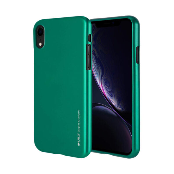 I-Jelly Cover iPhone XR Emerald Green
