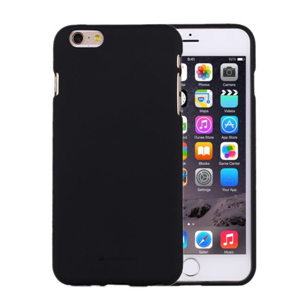 Soft Feeling Cover iPhone 6 & 6S Black