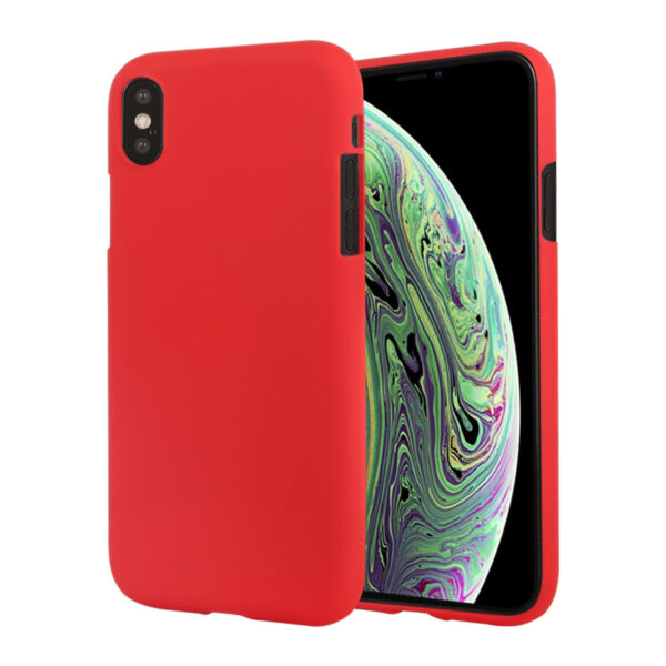 Soft Feeling Cover iPhone X & XS Red