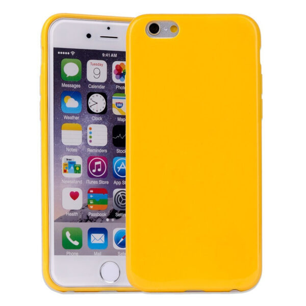 Jelly Cover iphone 6 Plus & 6S Plus Mustard