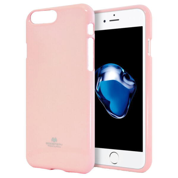 Jelly Cover iPhone 7 & 8 Baby Pink