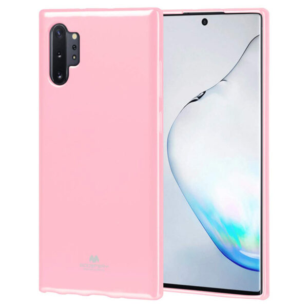 Jelly Cover Note 10 Plus Baby Pink
