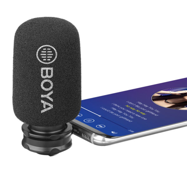 Vlogging External Microphone For Android Type C
