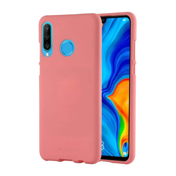 Soft Feeling Cover Huawei P30 Coral