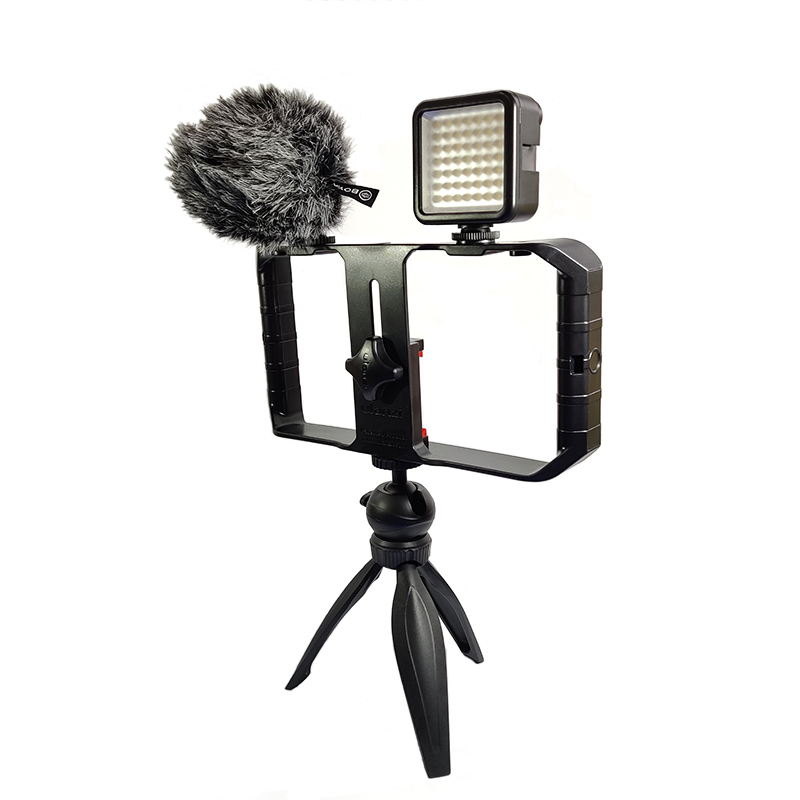 Smartphone Video Rig Kit With Boya By Mm1 Microphone We Love Gadgets