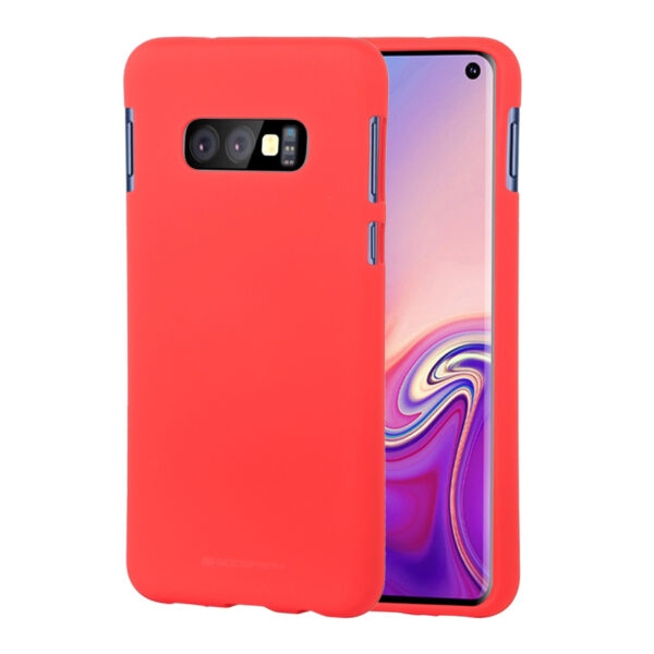 Soft Feeling Cover Galaxy S10e Red