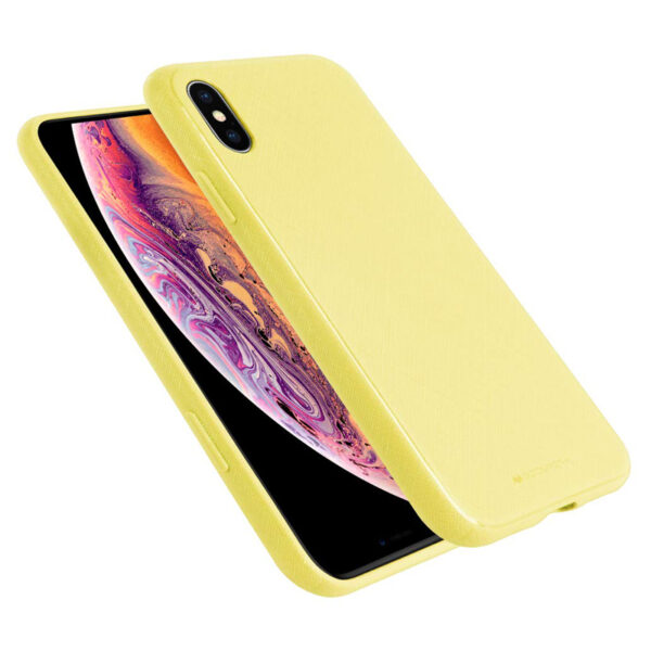 Style Lux Cover iPhone X & XS Yellow