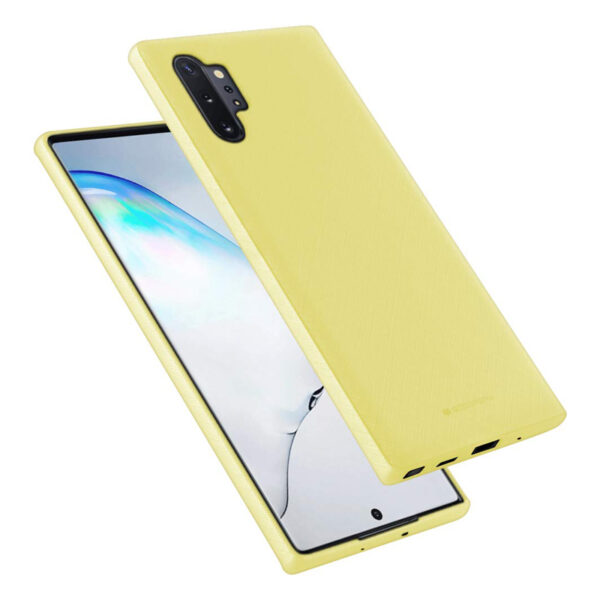 Style Lux Cover Galaxy Note 10 Plus Yellow