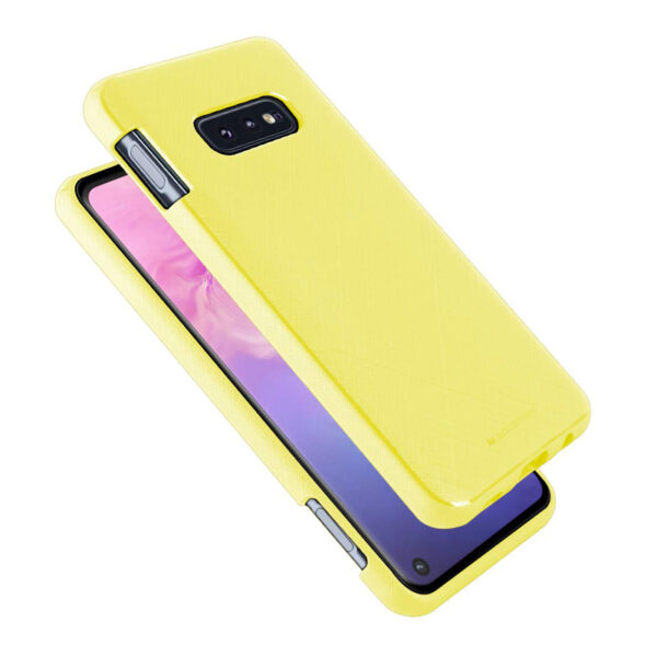 Style Lux Cover Galaxy S10e Yellow