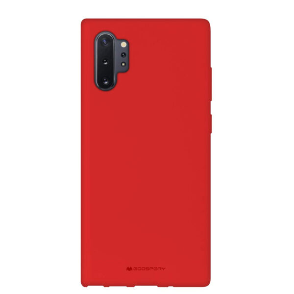 Soft Feeling Cover Galaxy Note 10 Plus Red