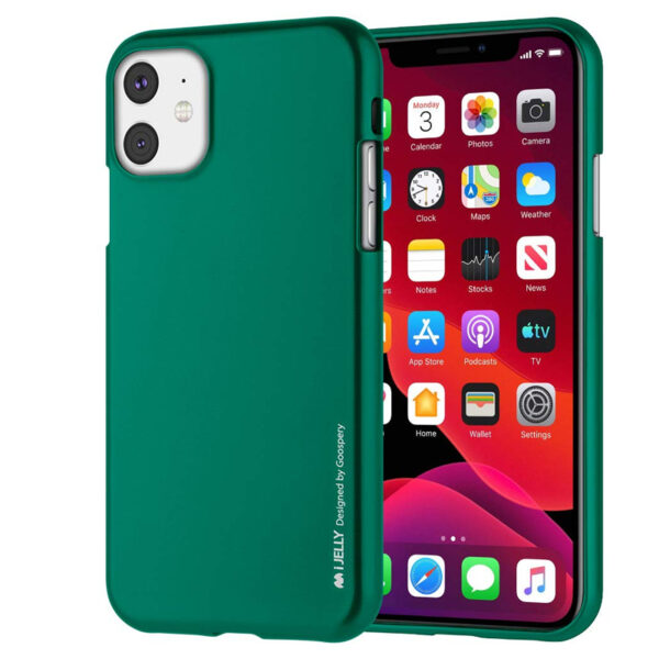 I-Jelly Cover iPhone 11 Emerald Green