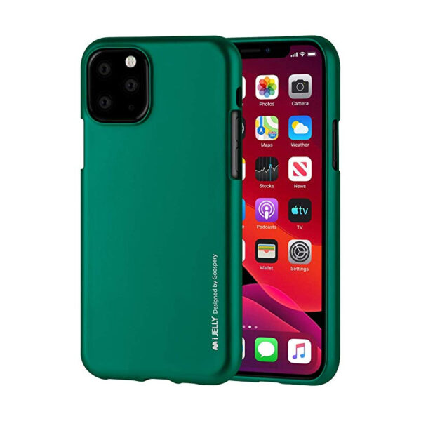 I-Jelly Cover iPhone 11 Pro Max Emerald Green