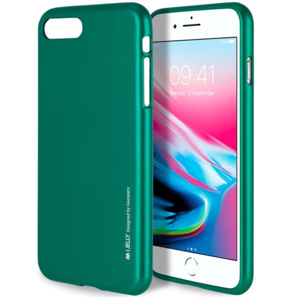 I-Jelly Cover iPhone 7 & 8 Emerald Green