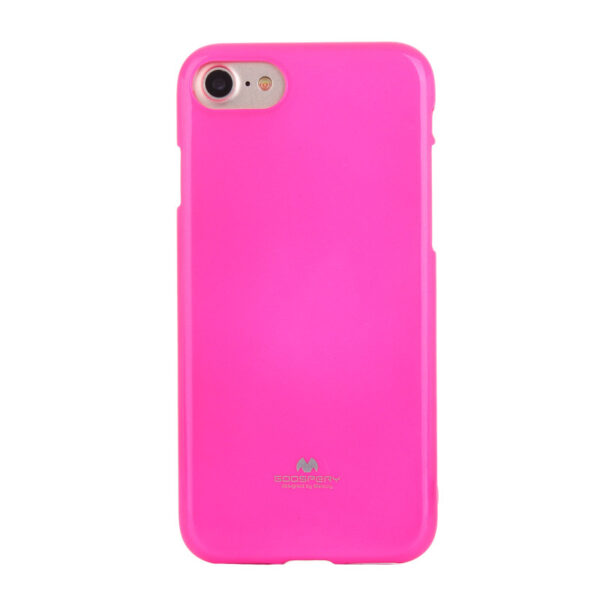 Jelly Cover iPhone SE 2020 / 8 / 7 Lumo Pink