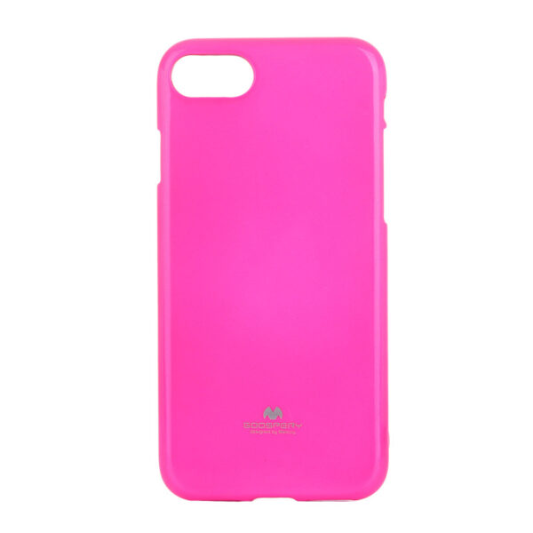 Jelly Cover iPhone 8 Plus & 7 Plus Lumo Pink