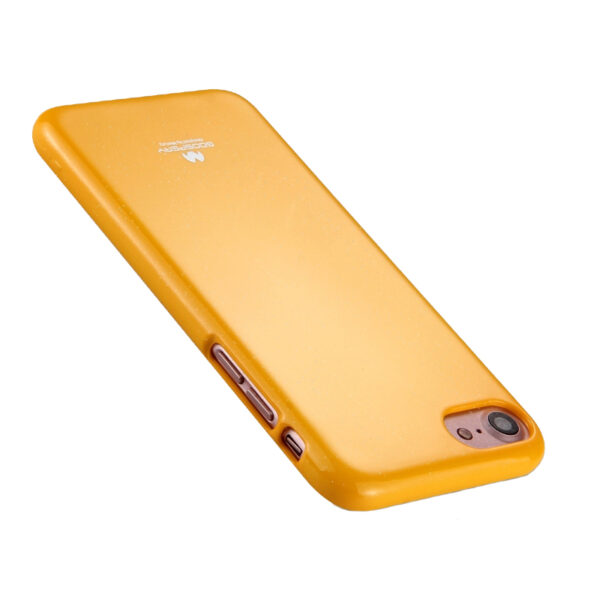 Jelly Cover iPhone SE 2020 / 8 / 7 Mustard