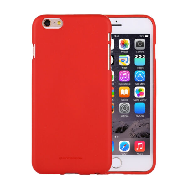 Soft Feeling Cover iPhone 6 Plus & 6S Plus Red