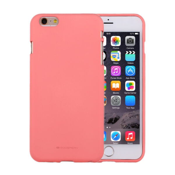 Soft Feeling Cover iPhone 6 Plus & 6S Plus Coral