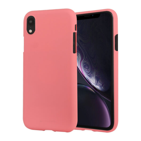Soft Feeling Cover iPhone XR Coral