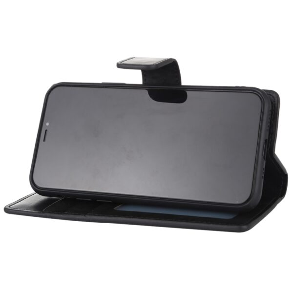 Flip Cover Wallet With Card Slots iPhone 11 Black