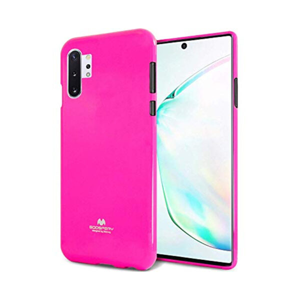 Jelly Cover Galaxy Note 10 Plus Lumo Pink