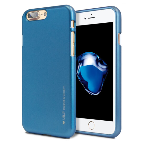 I-Jelly Cover for iPhone 8 Plus & 7 Plus Blue