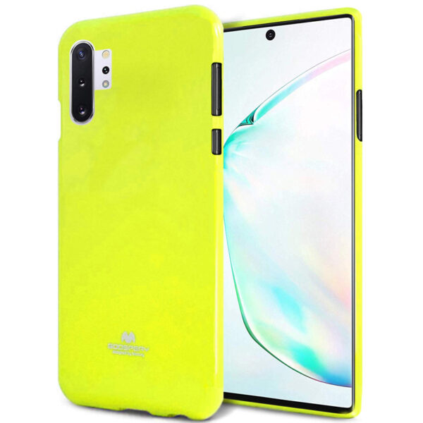 Jelly Cover Galaxy Note 10 Plus Lumo Yellow