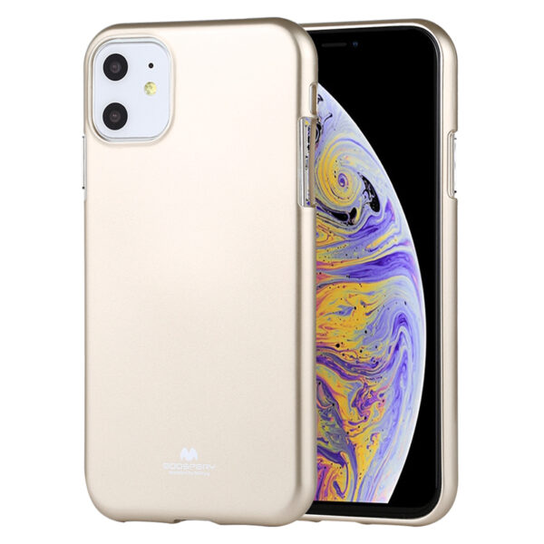 Jelly Cover iPhone 11 Gold