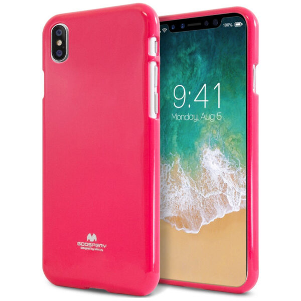 Jelly Cover iPhone XS Max Hot Pink