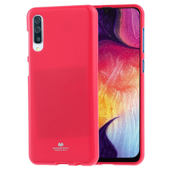 Jelly Cover Galaxy A50 Hot Pink