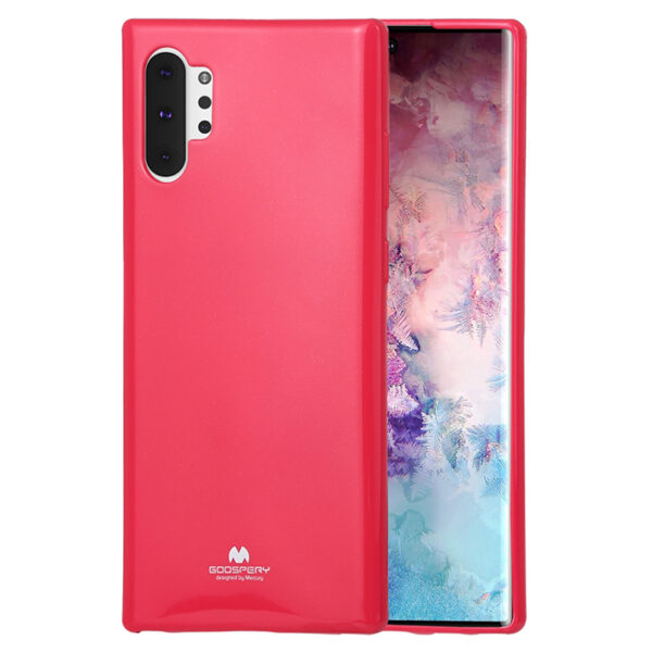 Jelly Cover for Galaxy Note 10 Plus Hot Pink