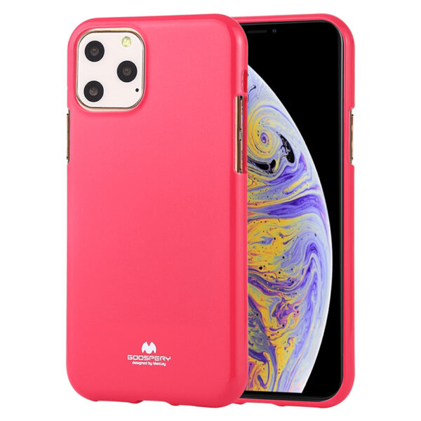 Jelly Cover for iPhone 11 Pro Max Hot Pink