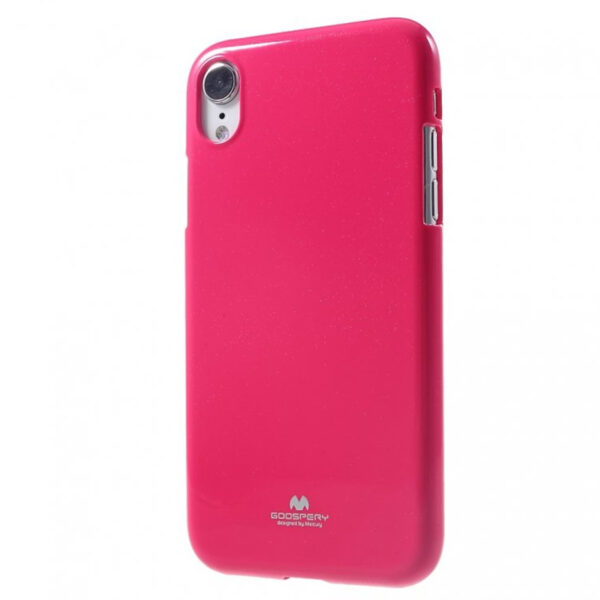 Jelly Cover for iPhone XR Hot Pink