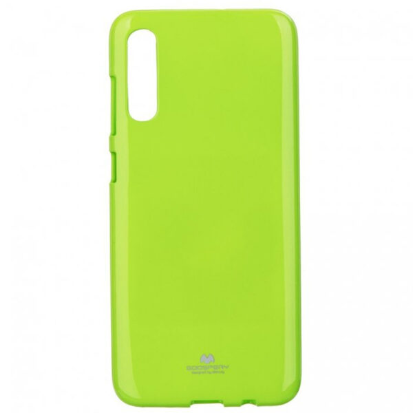 Jelly Cover Galaxy A70 Lime Green
