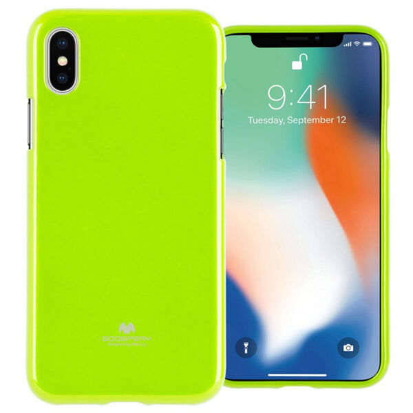 Jelly Cover for iPhone XR Lime Green