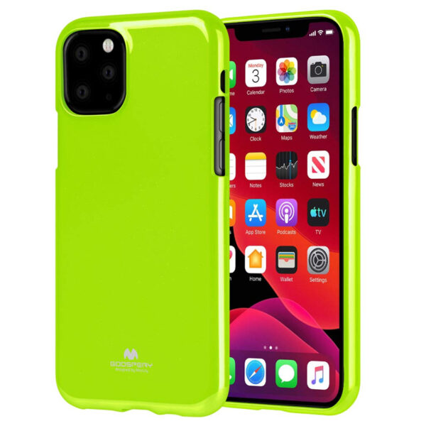 Jelly Cover for iPhone 11 Pro - Lime Green