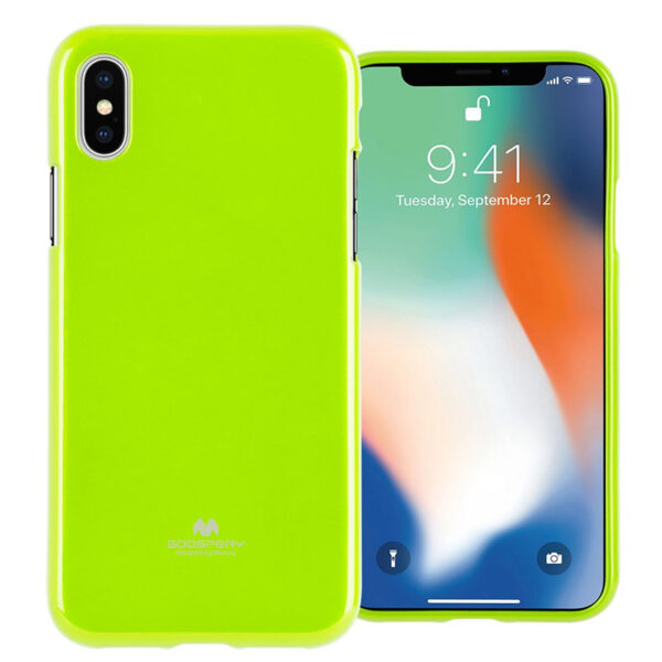 Jelly Cover iPhone XS Max Green