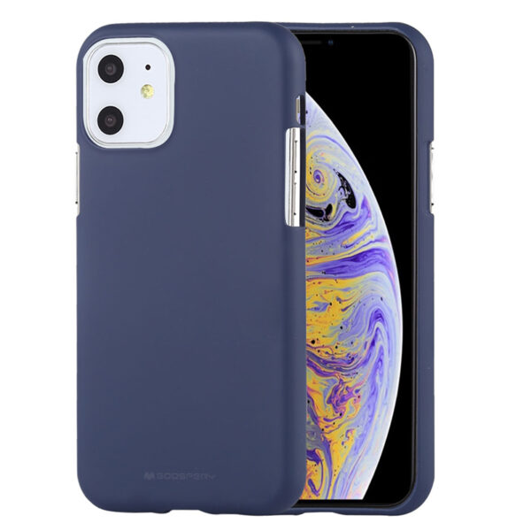 Soft Feeling Cover for iPhone 11 Midnight Blue