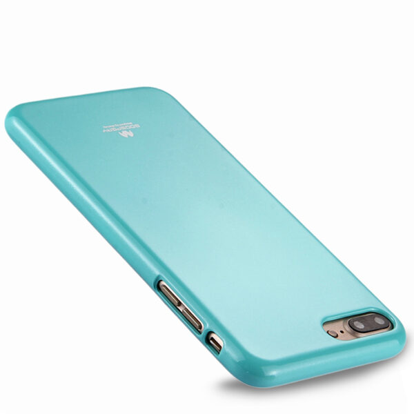 Jelly Cover iPhone 7 Plus & 8 Plus Mint
