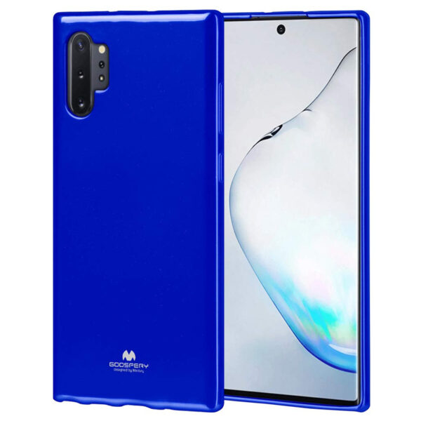 Jelly Cover for Galaxy Note 10 Plus Royal Blue