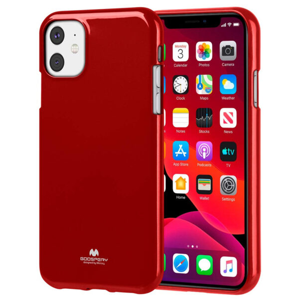 Jelly Cover for iPhone 11 Red